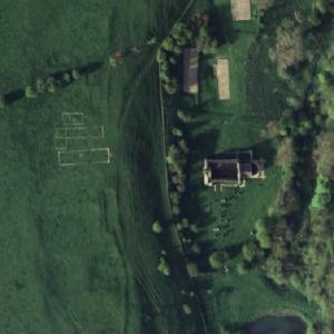 Abandoned Village of Wharram Percy (Google Maps)