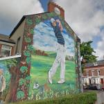 Rory McIlroy mural