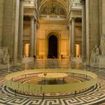 Foucault pendulum in the Panthéon
