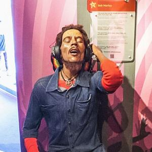 Bob Marley at Madame Tussauds Amsterdam (StreetView)