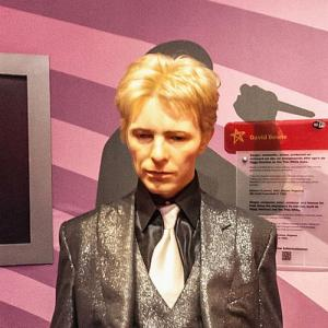 David Bowie at Madame Tussauds Amsterdam (StreetView)