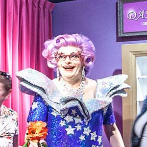 Dame Edna Everage at Madame Tussauds Amsterdam (StreetView)