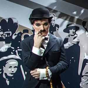 Charlie Chaplin at Madame Tussauds Amsterdam (StreetView)