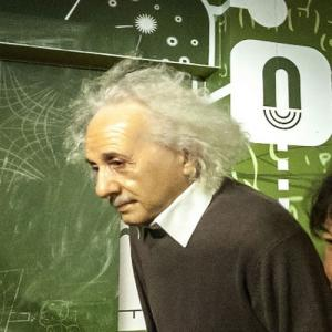 Albert Einstein at Madame Tussauds Amsterdam (StreetView)