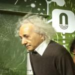 Albert Einstein at Madame Tussauds Amsterdam