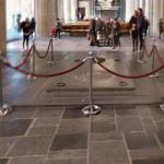 Entrance to the Royal tomb in the Nieuwe Kerk