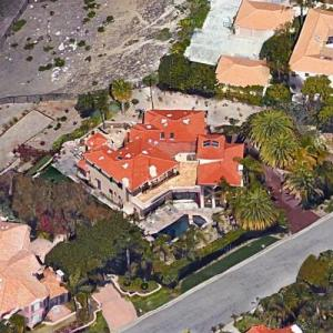 Camille Grammer's House (Google Maps)
