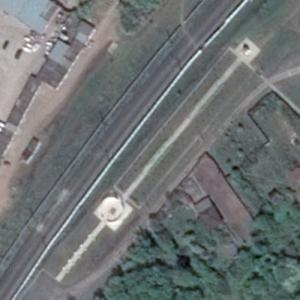 Aeroflot Flight 821 crash site (Google Maps)