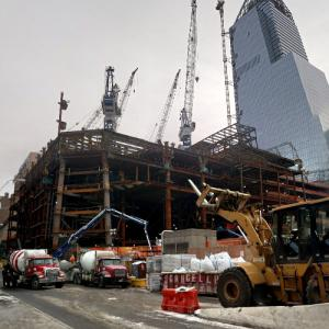 35 Hudson Yards under construction (StreetView)