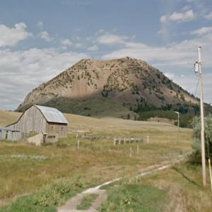 Bear Butte (Mathó Pahá) (StreetView)