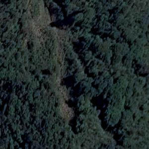 Aviateca Flight 901 crash site (Google Maps)