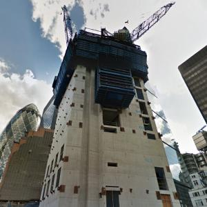 22 Bishopsgate under construction (StreetView)