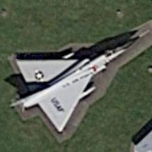 Convair F-106 Delta Dart (Google Maps)