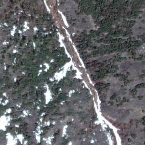 Aeroflot Flight 498 crash site (Google Maps)