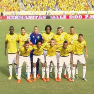Colombia national football team (StreetView)