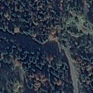 Cisna Mi-8T crash site (Google Maps)