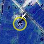 Unknown Aircraft at Sondok (Google Maps)