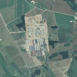Astravyets Nuclear Power Plant (Google Maps)