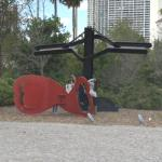 'La Plume de Pierrot' by Mark di Suvero