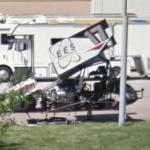 Josh Baughman's sprint car