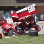 Davey Heskin's sprint car