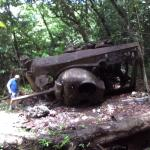 WW2 Tank in the Woods