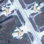 Tupolev Tu-95s at Ukrainka Air Base