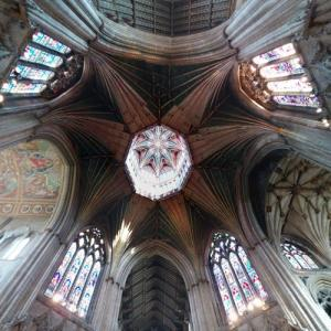 Ceiling and lantern of Ely Cathedral (StreetView)