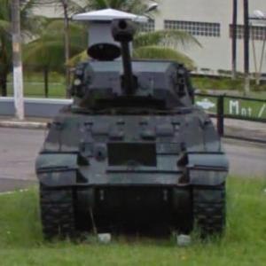 Bernardini X1A1 Light Tank (StreetView)