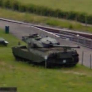 Chieftain FV 4201 Main battle tank (StreetView)