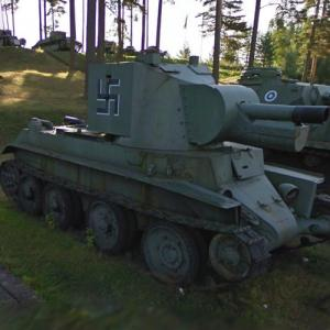 BT-42 Assault tank (StreetView)