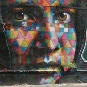 Malala yousafzai mural by eduardo kobra in rome italy for Mural eduardo kobra