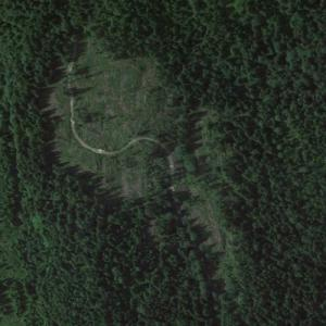 Braathens SAFE Flight 239 crash site (Google Maps)