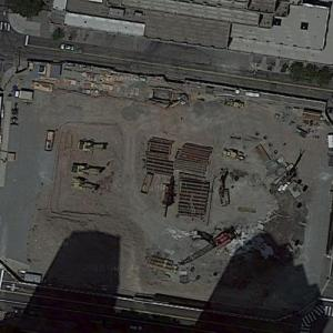 99 Hudson Street (tallest building in New Jersey) under construction (Google Maps)
