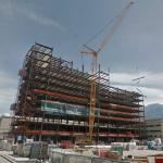 Utah Valley Regional Medical Center under construction
