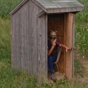 Amish telephone booth (StreetView)