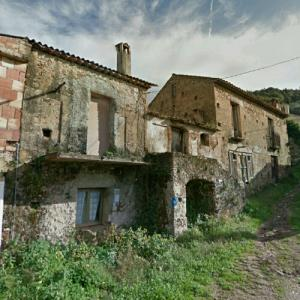 Abandoned town of Nicastrello (StreetView)