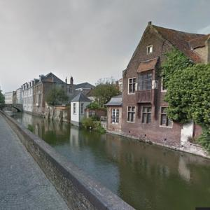 Bruges canal (StreetView)