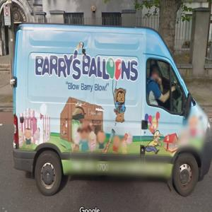 Barry's Balloons (StreetView)