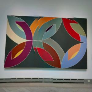 'Lac Laronge IV' by Frank Stella (StreetView)