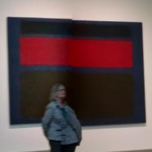 'Untitled' by Mark Rothko (StreetView)
