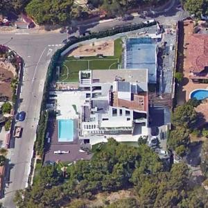 Lionel Messi's House (Google Maps)