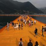 Walking on Christo's The Floating Piers