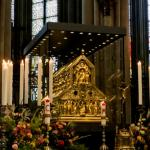 Shrine of the Three Kings in the Cathedral of Cologne