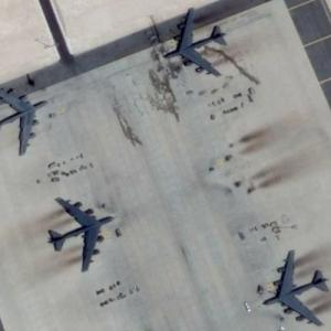 Four B52s (Google Maps)