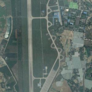 Empty Military Airbase (Google Maps)