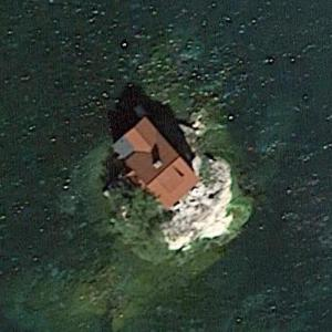 Just Room Enough Island (Google Maps)