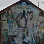 """Free the POWS"" mural"