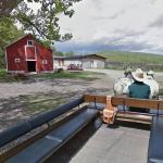 Street view camera gets a horsedrawn tour of Bar U Ranch