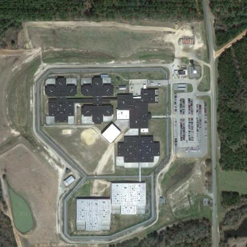 Coffee Correctional Facility in Nicholls, GA (Google Maps)